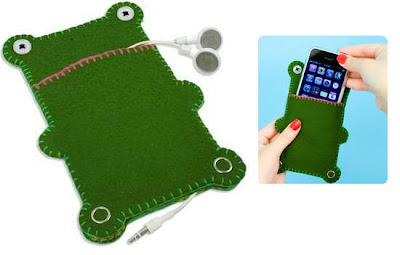Cute iPod Touch Case: Gregory iPhone cozy