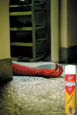 The tragic end of Spiderman...