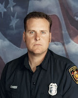 Firefighter Brent Lovrien