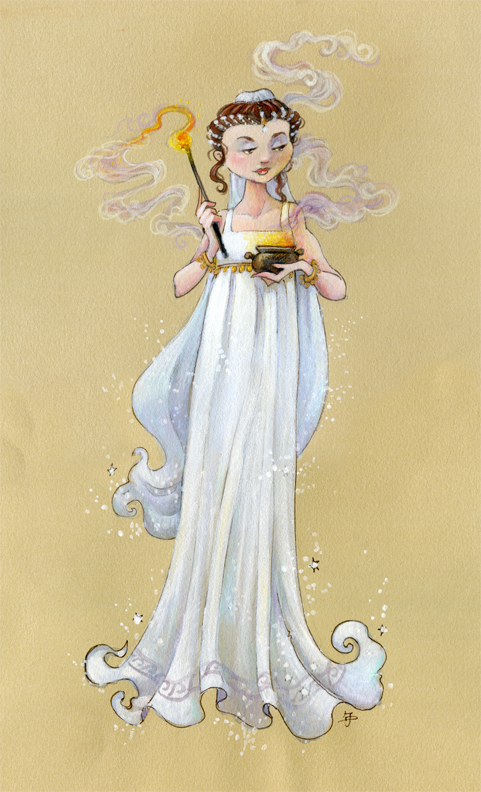 Hestia Costume