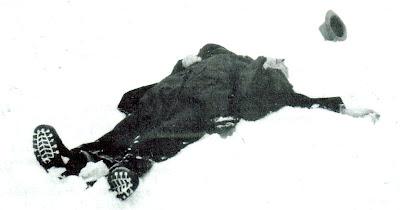 Robert Walser, 25 de Dezembro de 1956, perto do Sanatório de Herisau