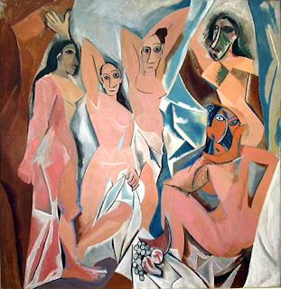 Pablo Picasso - Les Demoiselles d'Avignon (1907)