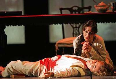 Ópera: representação de Werther de Jules Massenet; Turim, Itália