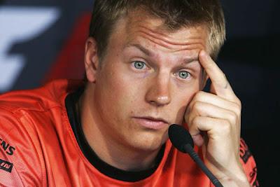 Kimi Raikkonen, não precisas de estar tão sério...