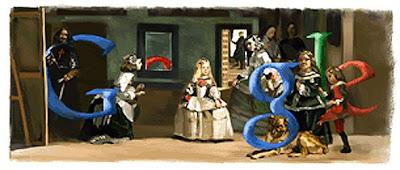 Google comemora os 409 anos do nascimento de Velázquez