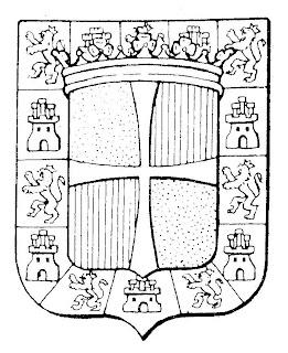 Escudo de Jaén para colorear