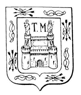 Escudo de Huelva para colorear