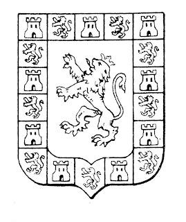 Dibujo para colorear escudo de Córdoba