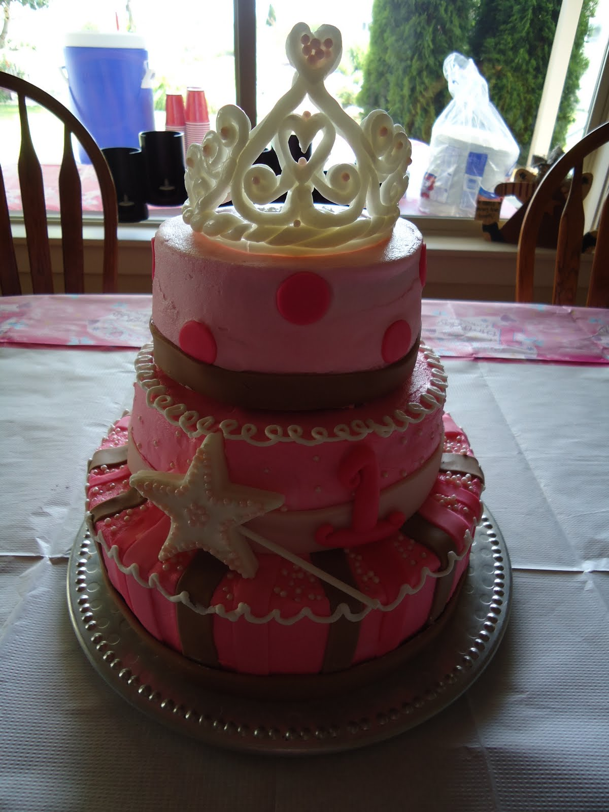 Cats Cake Creations Princess Tiara Birthday Cake