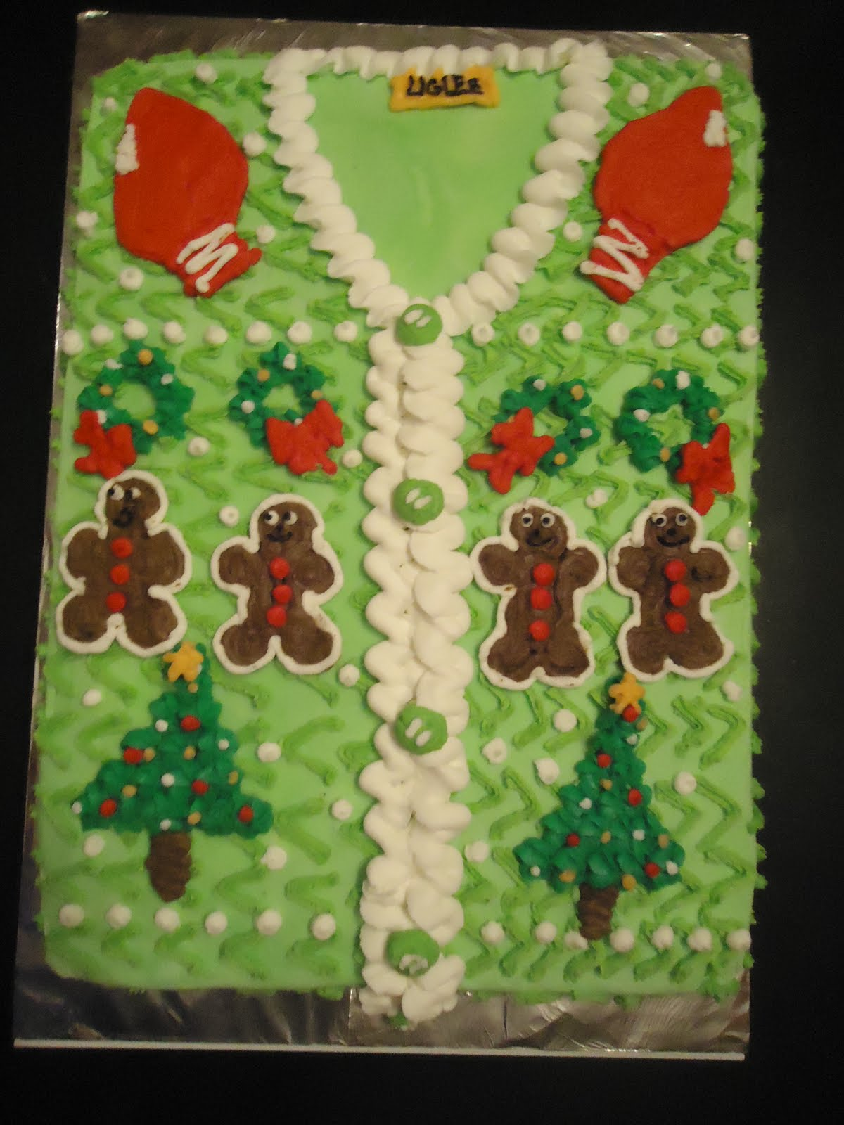 Cat S Cake Creations Ugly Sweater Cake