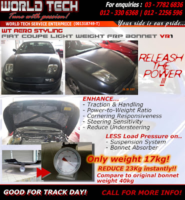 World Tech Auto >> World Tech Auto Tune With Passion Fiat Coupe Light Weight