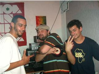 "WILL ( BOOMSHOT ) + STRANJAH ( MOA AMBESSA - CHICAGO/JAMAICA ) + RAFAEL "" WHITJAH "" ( ZION BROTHERS"