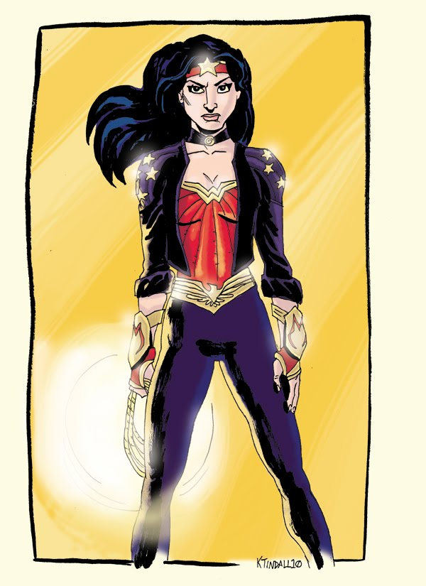 Kelly Tindall S Sketchbook Why I Hate Wonder Woman