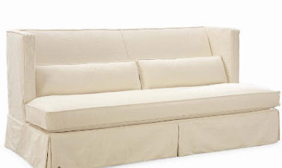 Attractive This Cream Slipcovered Sofa, Above, Is Also From Lee Industries. It Can Go  In The Living Room Or The Family Room. It Was Designed By Robert McAlpine,  ...