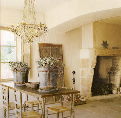 Cote De Texas A Country French House Authentic Elements