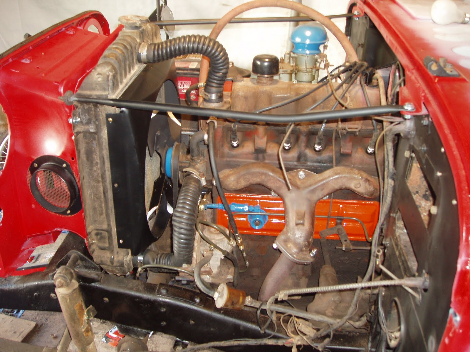 willys jeep project: hurricane engine (2.0)