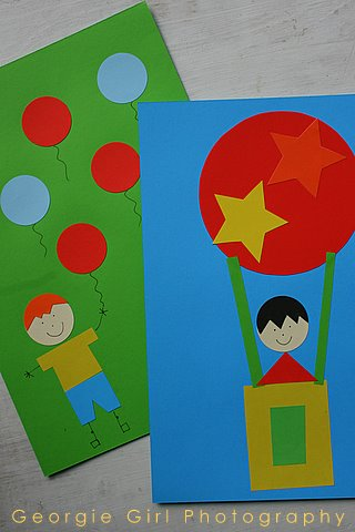 shapes craft ideas and lollipops shapes picture a rainy day activity 2912