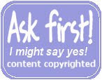 Ask First - Copyright Protected