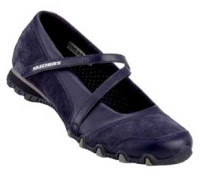 Blasted Navy Skechers