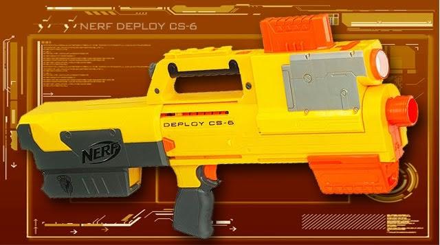 Urban Taggers Review Nerf N Strike Deploy Cs 6