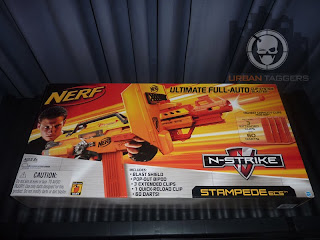 Urban Taggers Review Nerf N Strike Stampede Ecs