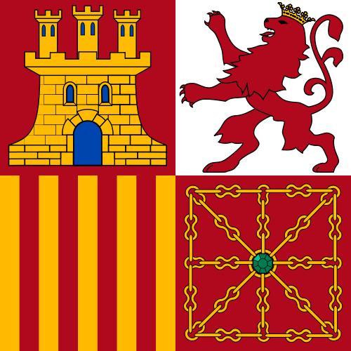 Bandera de proa, Tajamar o Torrotito de la Armada Española