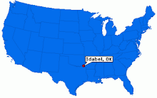 Where the hell is Idabel?