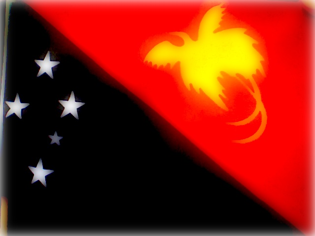 The Papua New Guinean Flag