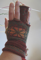 Fair Isle gloves - too tight!