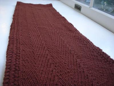 DH herringbone scarf