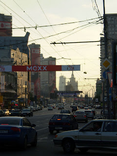 Moskau Traffic