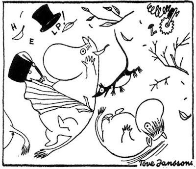 Matt Madden's blog (archive): Moomin and Lost: the revelation