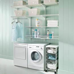87b057246c1e2 Se você estiver pensando em reformar sua lavanderia com o objetivo de  deixá-la com um ar mais vivo confira algumas fotos para se inspirar.