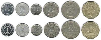 Monedas y billetes de diferentes paises Megapost