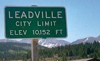 Leadville 10,152 feet