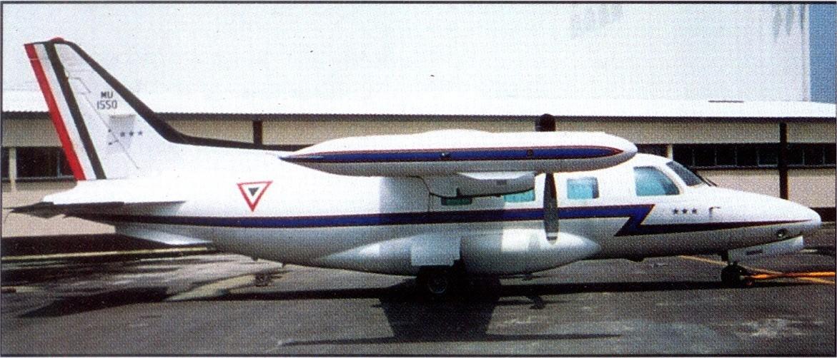 Inventario  de  aeronaves de  la  FAM  ( actualizado 23 Febrero 2016 ) MU-2J