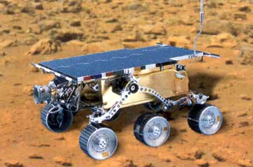 Los robots en la actualidad. Un robot en Marte