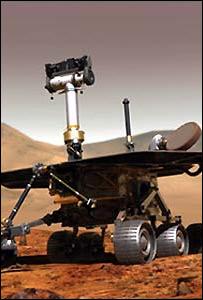 Marte: El robor Spirit llego a Marte en Junio y Julio pasados.