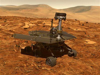 Tormenta de polvo amenaza robots de la NASA en Marte