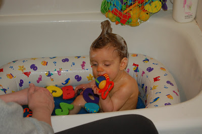 There's gotta be some carrots in this bath toy!