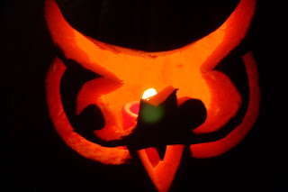 The owl pumpkin