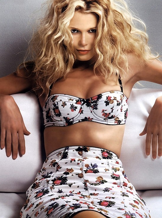 World Fashions Styles Top Fashion Model Claudia Schiffer