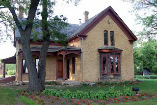 The historic Cummings House in Eden Prairie, MN