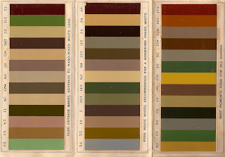 Victorian era historic paint color samples from Breinig Company