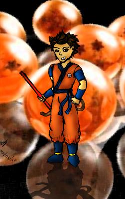nuevos fanarts de dragon ball la pelicula Gokuversion1+gerar+navarrete