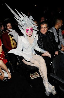 Heelless Shoes Lady Gaga