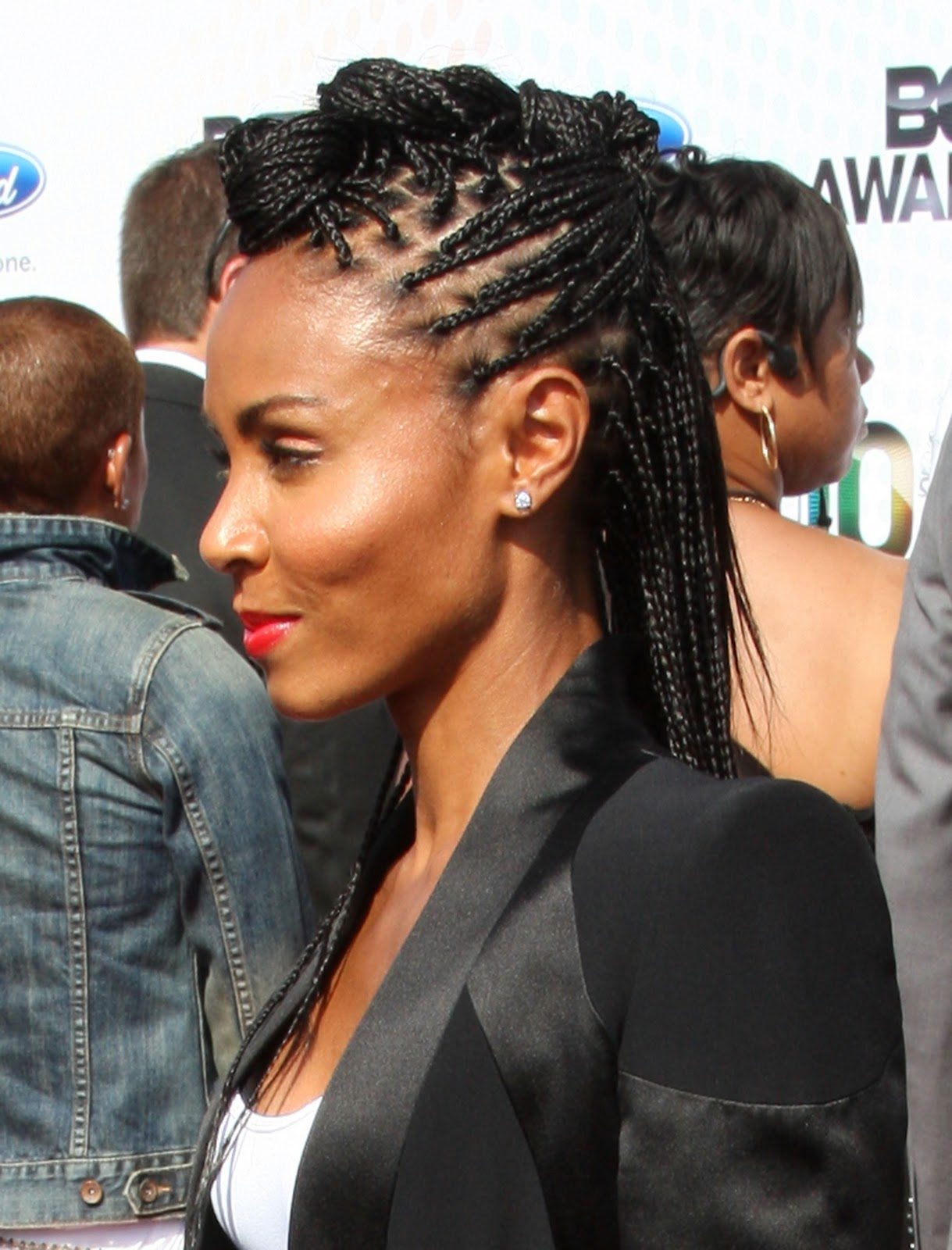 GLAM OR SHAM Willow And Jada Pinkett Smiths Braided Mohawksor
