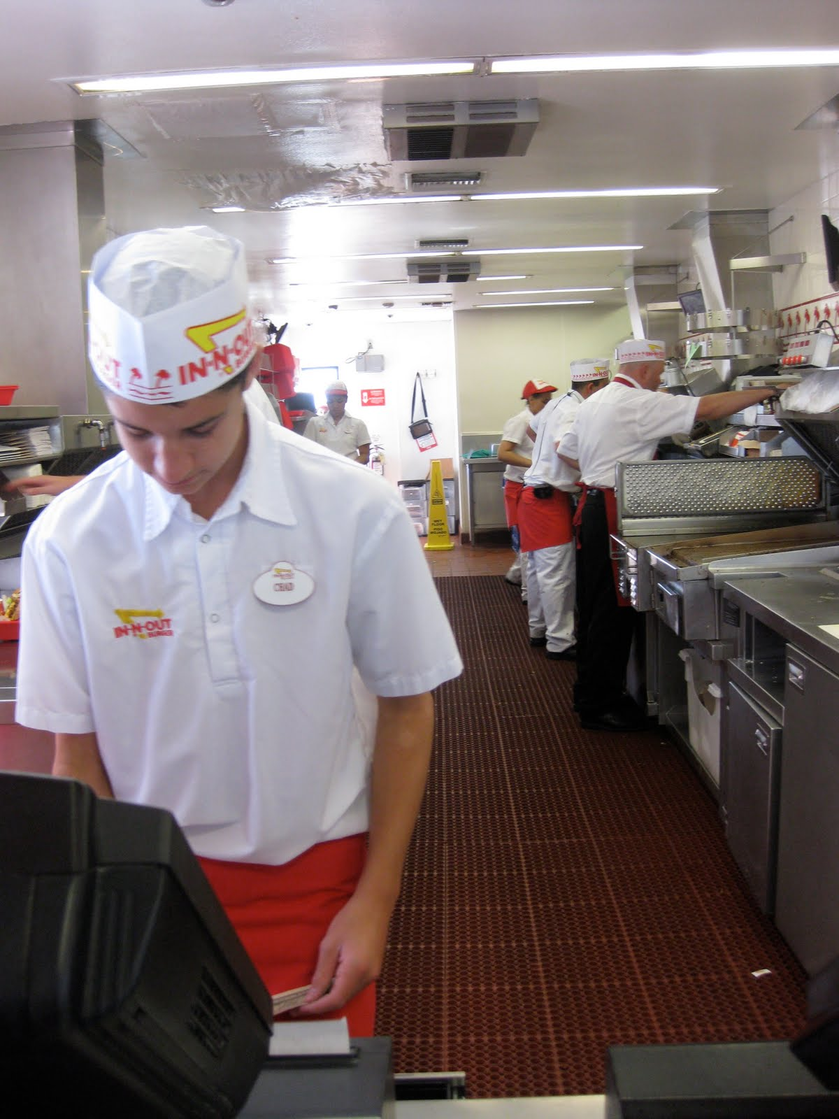 Dining With Monkeys: In-N-Out Burger