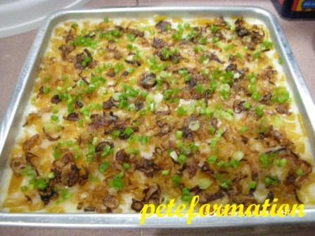 Yam Cake Recipe