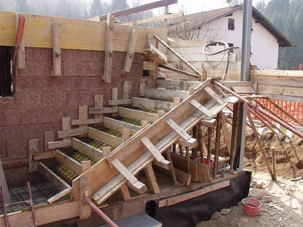 Mobili lavelli come armare una scala cemento - Scale in cemento armato ...